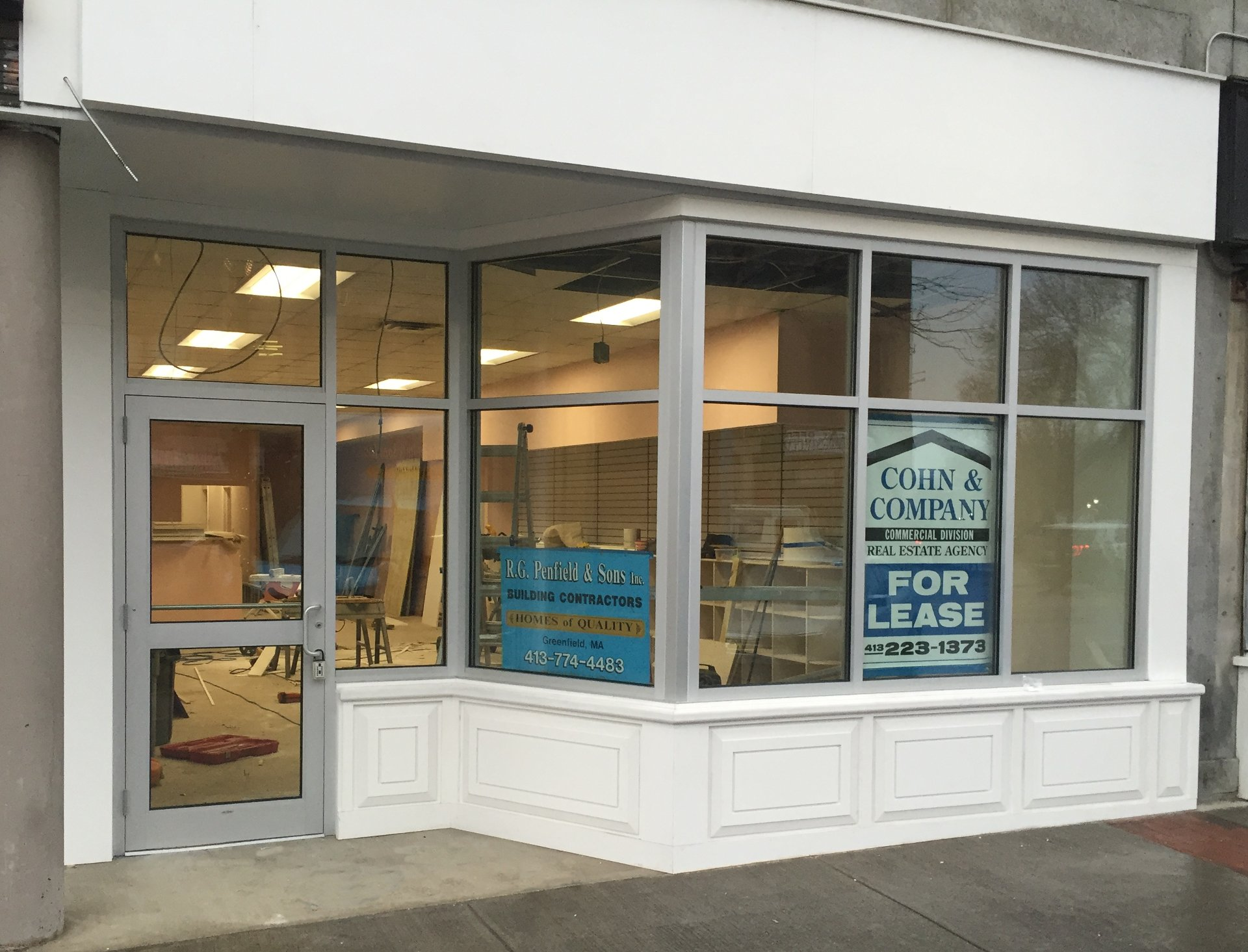 282 Main Street store front remodel.